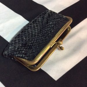 REAL SNAKE SKIN LEATHER COIN PURSE 1