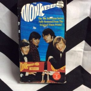 THE MONKEES VHS TAPES 1