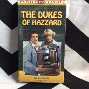 DUKES OF HAZARD VHS TAPES 1