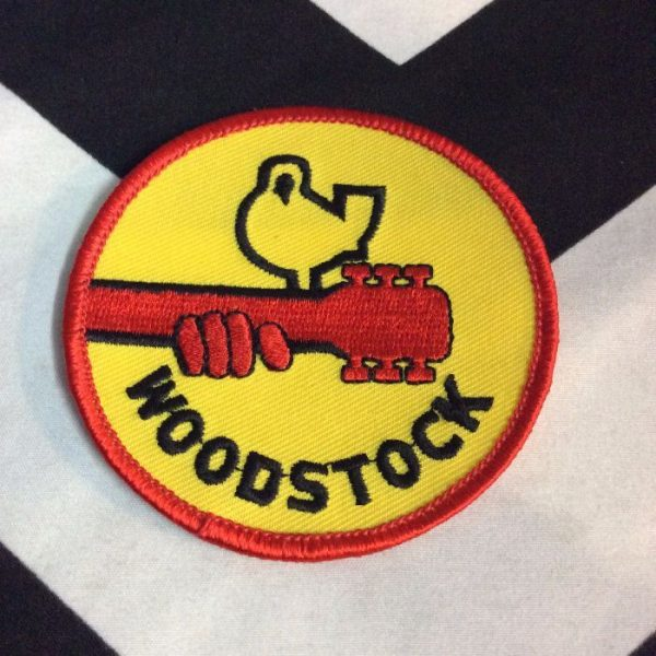 product details: PATCH- WOODSTOCK *OLD STOCK* photo
