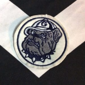 PATCH - SM GEORGETOWN HOYAS BULLDOG PATCH *DEADSTOCK* 1