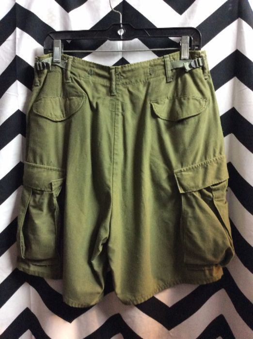 MENS MILITARY ISSUED CARGO SHORTS 2