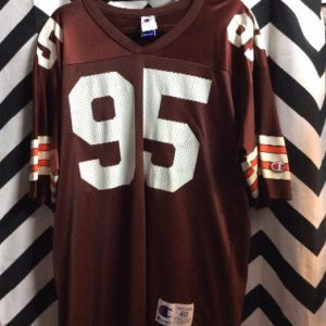FOOTBALL JERSEY BROWNS #95 MILLER 1