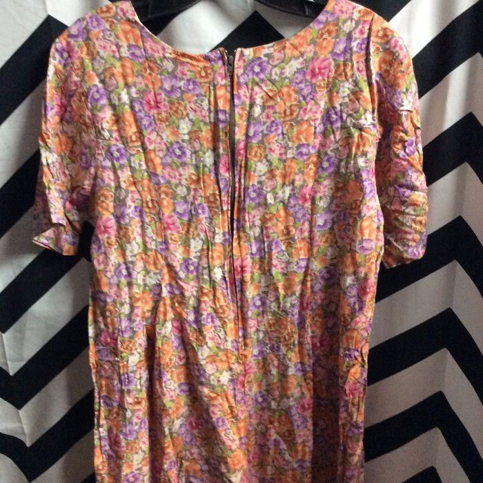 SS FLORAL PRINT ROMPER 1990S 2