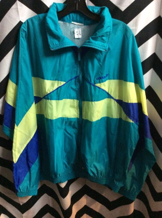 adidas jacket real color