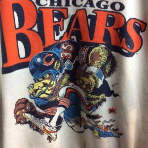 SWEATSHIRT CHICAGO BEARS CARTOON GRAPHIC 1
