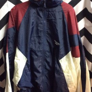 REEBOK COLOR BLOCK WINDBREAKER as-is 1