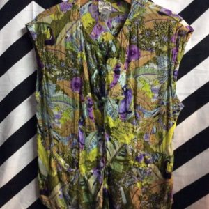 SS BD FLORAL & BIRD PRINTED BLOUSE #AMAZING 1