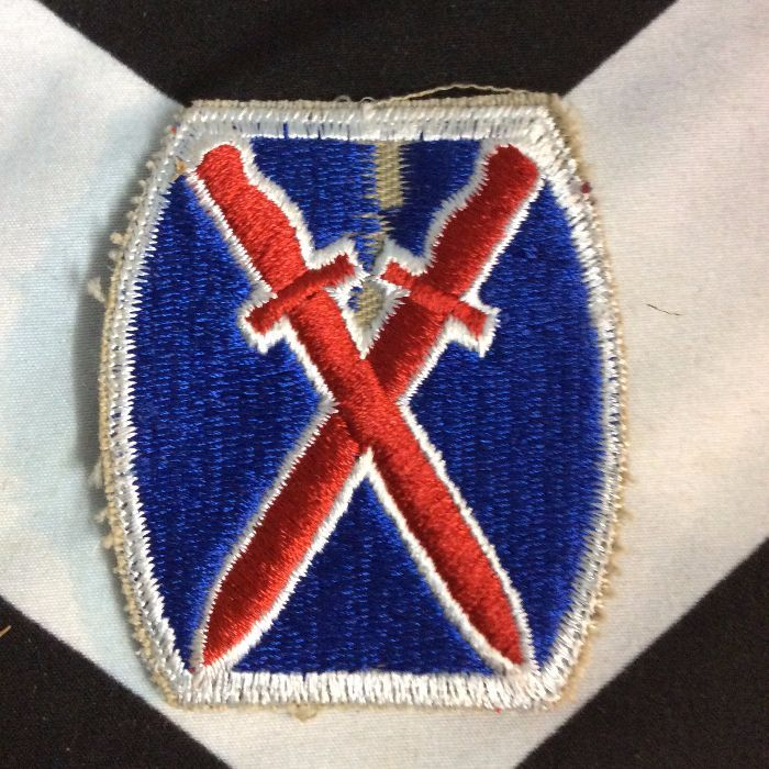 PATCH DOUBLE SWORD RED BLUE *deadstock 1