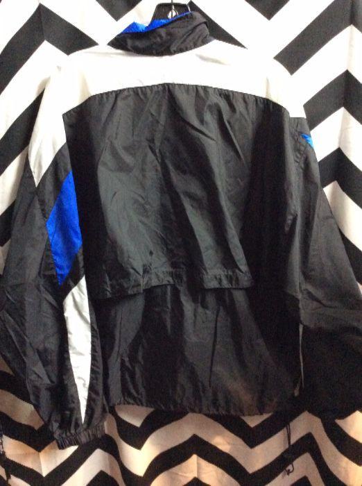 Nike Windbreaker Black   White   Blue 2 f5453b694