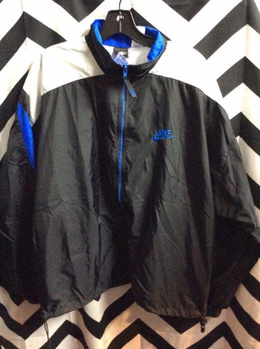 Nike Windbreaker Black   White   Blue 1 3a28c5562