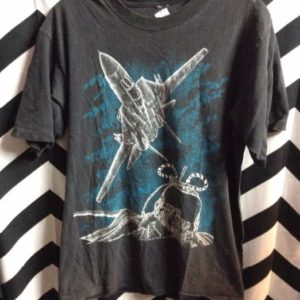 TSHIRT- TOMCAT AIRFORCE POINTILISM GRAPHIC 1