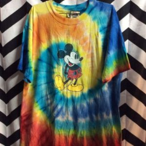 TIDE DYE MICKEY MOUSE TSHIRT 1