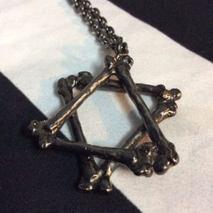 Brass Pentagram Necklace 1