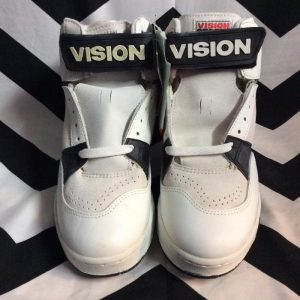 *deadstock* VISION STREET WEAR HIGH TOPS as-is *original BOX 1