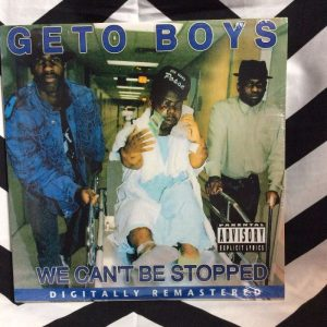 BW VINYL GETO BOYS - We Cant Be Stopped 1