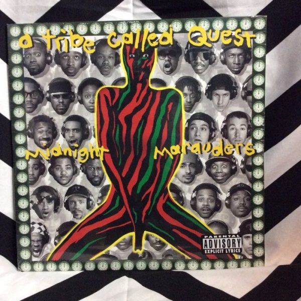 product details: BW VINYL TRIBE CALLED QUEST MIDNIGHT MARAUDERS photo
