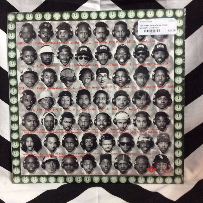 BW VINYL Tribe Called Quest Midnight Marauders 2
