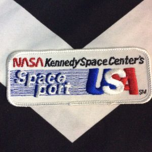 PATCH NASA KENNEDY SPACE CENTERS SPACE PORT USA 1