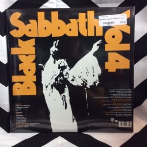 BW VINYL BLACK SABBATH - Vol. 4 1