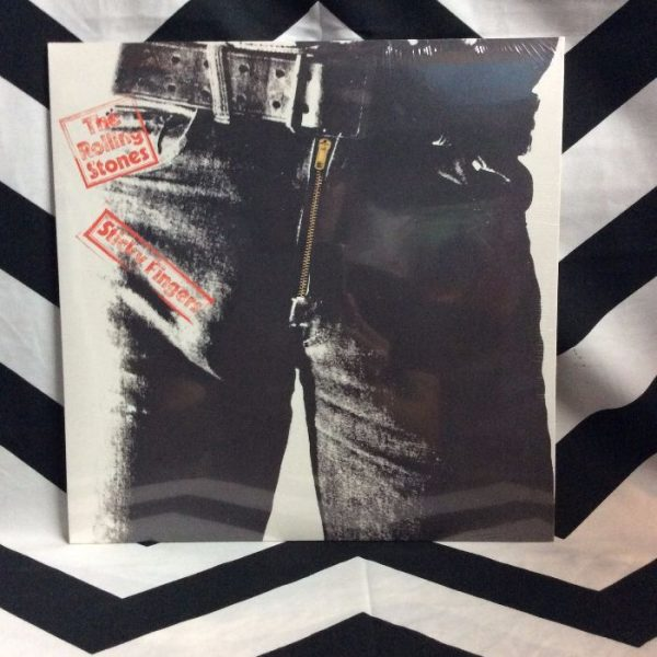 product details: BW VINYL THE ROLLING STONES - Sticky Fingers photo