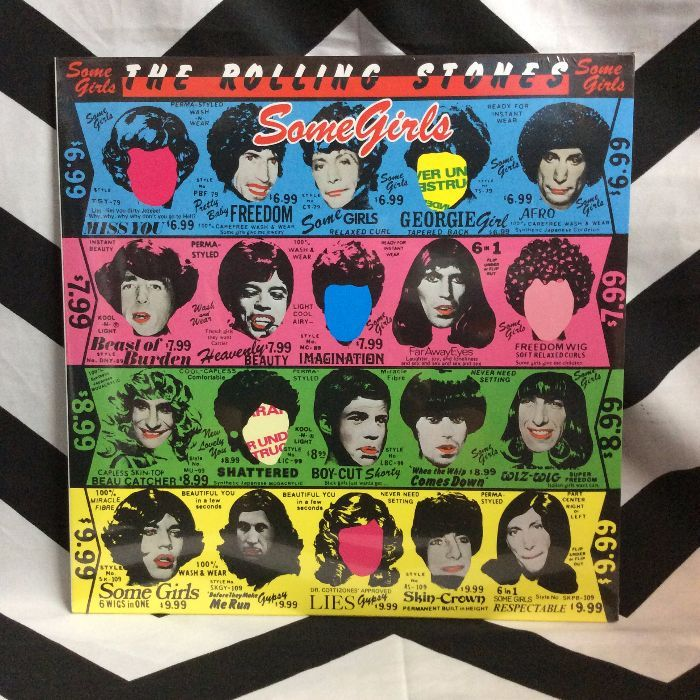BW VINYL RECORD - THE ROLLING STONES - SOME GIRLS