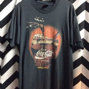 Vintage Coca Cola black Tee Soft 4K 1