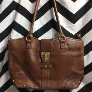 Etienne Aigner Soft Brown Leather Hand Bag 4K 1