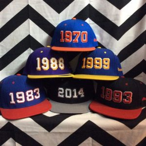 Assorted Sport year hats NBA Champions 1