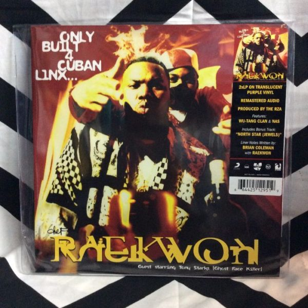 product details: BW VINYL CHEF RAEKWON ONLY BUILT 4 CUBAN LINX photo