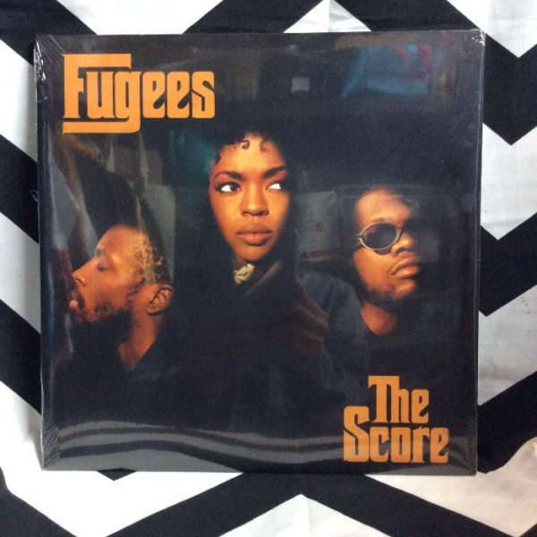 product details: BW VINYL FUGEES THE SCORE photo