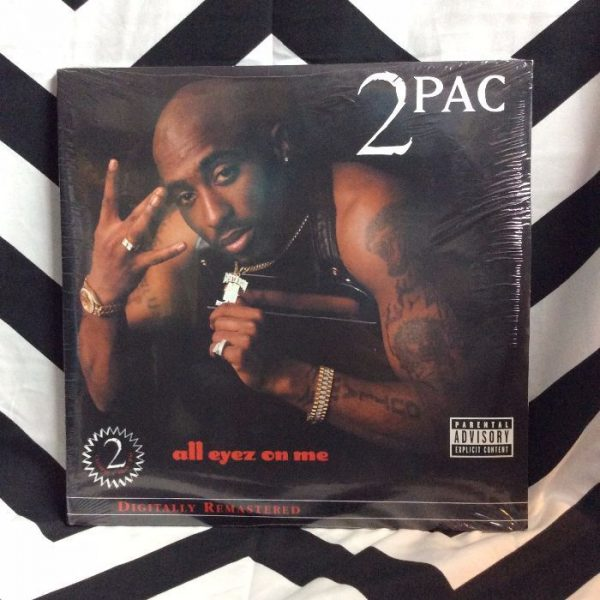 product details: BW VINYL 2PAC ALL EYEZ ON ME photo