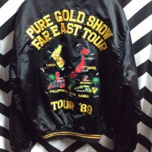 SOUVENIR TOUR JACKET FAR EAST TOUR 89 1
