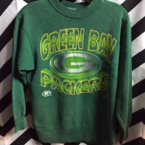 SWEATSHIRT GREEN BAY PACKERS AS IS Small fit 1