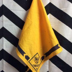 Bandana Vintage Yellow Triangle Cub Scouts 1