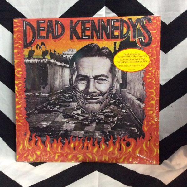 product details: BW VINYL Dead Kennedys Give Me Convenience or Give me death photo