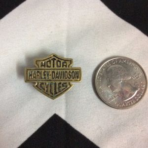 HARLEY DAVIDSON EAGLE PIN *solid brass 3