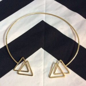CHOKER NECKLACE- Double Triangle 1