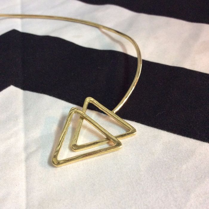 CHOKER NECKLACE- Double Triangle 2