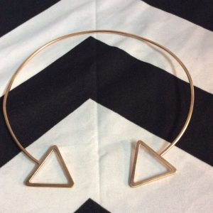 CHOKER NECKLACE- Single Triangle 1