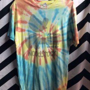 Tshirt Woodstock Tie Dyed 1