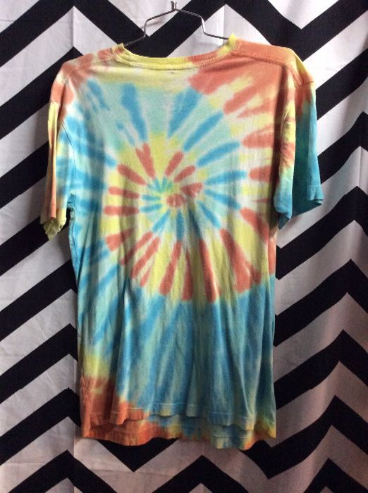 7f46680a9326a T-SHIRT - WOODSTOCK - TIE DYED