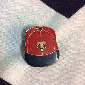 BW PIN - Retro Minnesota Twin Cities Logo Vintage CAP 1