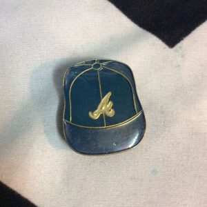 BW PIN - Retro Atlanta Braves Logo Vintage CAP 1