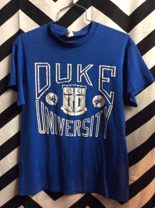 Retro DUKE University Blue Devil BLUE 1