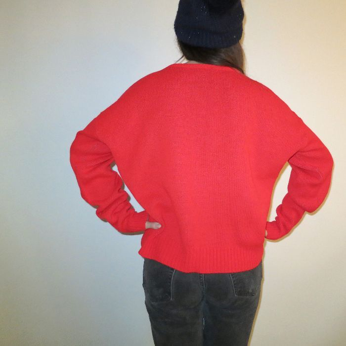 CLIFF ENGLE KNIT SWEATER - MICKEY MOUSE DESIGN 8
