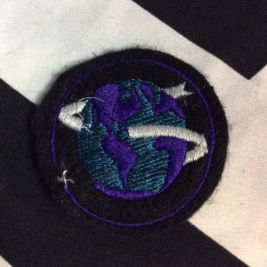 PATCH Miltary snake around globe *old stock 1