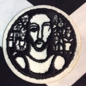PATCH- JESUS ARTSY PRINT *old stock 1