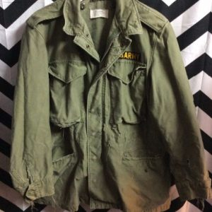 VIETNAM ERA MILITARY JACKET *DISTRESSED MEDIUM FIT 1