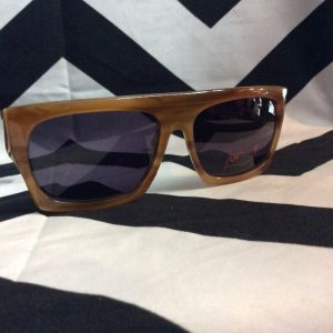 *DEADSTOCK* FORTE FLAT TOP TORTOISE SUNGLASSES 1